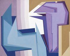 Gualtiero Nativi - Apparizione n. 2, 1984-89 - Acrilico su tela, 80x100 cm.