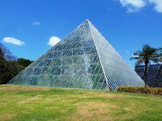 Sydney Botanical gardens pyramid