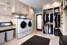 Small laundry room design ideas will assist you to appreciate the area around your washing machine as well as clothes dryer. Discover the most effective ideas for 2018 and change your laundry room design Mudroom Laundry Room, Small Laundry Rooms, Laundry Room Organization, Organization Ideas, Storage Ideas, Laundry Area, Bathroom Laundry, Laundry Room Folding Table, Laundry Baskets