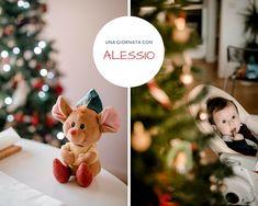 Una settimana a Natale, l'albero è fatto e Alessio ha circa 6 mesi. Ad aspettarmi un dolce homemade e Alessio, che mi cerca con lo sguardo se non mi vede nei paraggi e è contentissimo di farsi fotografare. Poi si addormenta perché si sa, posare stanca...