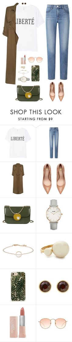 """Drop Dead Gorgeous"" by xoxomuty on Polyvore featuring Uniqlo, Label Lab, CLUSE, Kate Spade, Karen Millen, Maybelline, ootd and polyvoreOOTD"