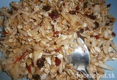 Raňajkový jablkový šalát Smoothie, Cereal, Grains, Salads, Chicken, Breakfast, Food, Diet, Morning Coffee