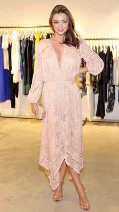 — Miranda Kerr wearing Zimmermann.