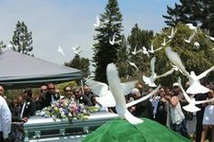Jerry garcia's funeral.