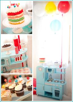 Half Baked – The Cake Blog » Real Party: Cake & Ice Cream Birthday
