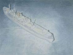 Luc Tuymans, Cargo, 2004, oil on canvas, 150 cm x 195,5 cm