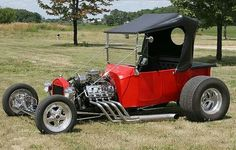 Hot red buggy