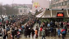 In 1991, McDonald's (MCD) opened the doors to its first restaurant in Russia.  The first day of McDonald's in Russia broke the record for inaugural sales in McDonald's history serving more than 30,000 customers on the first day itself.  The Pushkin Square McDonald's is the world's busiest McDonald's restaurant serving more than 20,000 customers daily