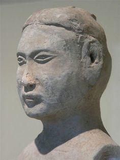 Western Han Standing Male, Jordan Schnitzer Museum of Art