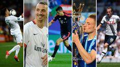 Most goals - All Leagues Luis Suarez - 37 Zlatan Ibrahimovic - 36 Cristiano Ronaldo - 33 Gonzalo Higuaín - 33 Robert Lewandowski - 29 Harry Kane - 25 Jamie Vardy - 24