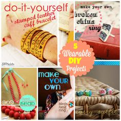5 wearable DIY proje
