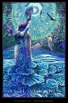 Aquarius Benjamin Higbee f Aquarius Art, Aquarius Tattoo, Aquarius Horoscope, Aquarius Woman, Age Of Aquarius, Astrology Zodiac, Aquarius Symbol, Tarot, Zodiac Art