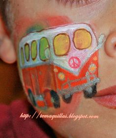 Tu Maquillaje Profesional: Un maquillaje Hippie de lo mas original