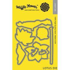 Waffle Flower Die-Lotus