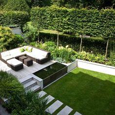 Gartenbeet Modern garden inspiration hammock giveaway contemporary gardens garden