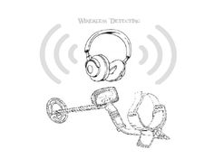 Wireless Metal Detector Headphones For Under $25 – (D.I.Y) This post will show you how to add Wireless Metal Detector Headphones to any metal detector. And to top it off you wont have to spend a lot of money