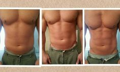 YES MEN WRAP TOO!! Results from using 1 Ultimate Body Applicators from It Works! A box of 4 wraps is just $59 as a Loyal Customer. For more info or to order visit www.lforman.myitworks.com