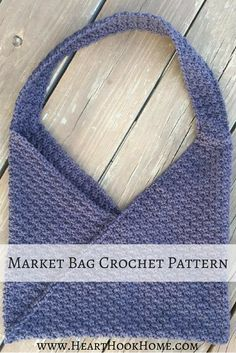 Need a new market bag? I use this one for my current WIP (work in progress) and it is the perfect size for a few skeins and my hooks. Love!