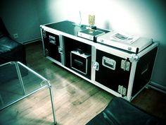 #flightcase, #commode, #furniture, New flightcase commode from AGATA