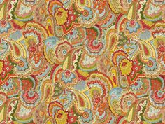 Kravet Couture PAISLEY CRUSH PRIMARY 32812.530