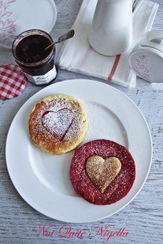 Raspberry and Vanilla Pancakes
