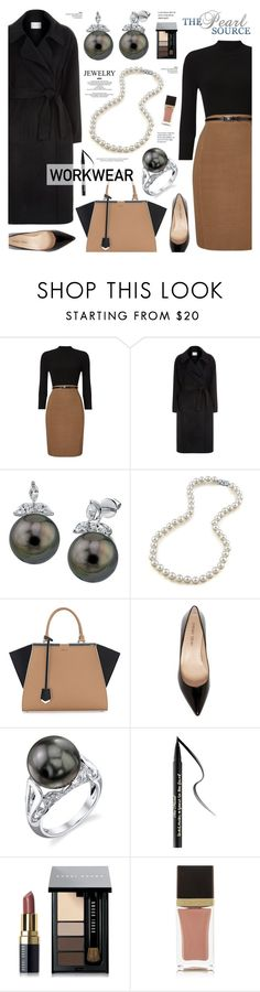 """""""The Pearl Source 36"""" by anyasdesigns ❤ liked on Polyvore featuring Phase Eight, Sandro, Fendi, Ivanka Trump, Too Faced Cosmetics, Bobbi Brown Cosmetics, Tom Ford and StyleNanda"""