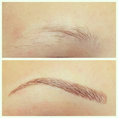 Permanent Brows by Beautissima - Microblading Mircoblading Eyebrows, Eyebrows Goals, Permanent Makeup Eyebrows, Semi Permanent Makeup, How To Grow Eyebrows, Thick Eyebrows, Perfect Eyebrows, Eyebrow Makeup, Eyeliner