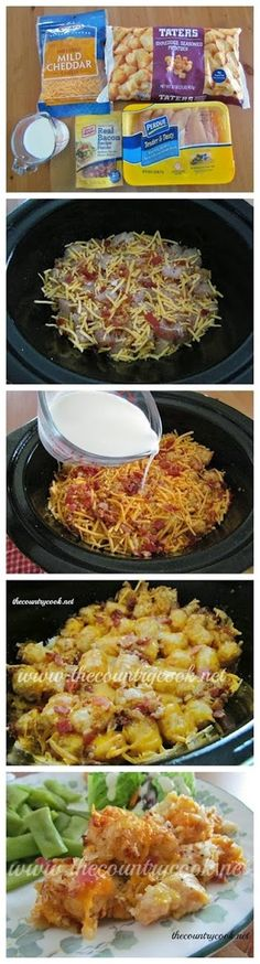 How To Cheesy Chicken Tater Tot Casserole