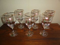 Vintage 1960's Irish Liquor Coffee Glass Barware  Glass Set For Sale Online by Antiquescove, $65.00