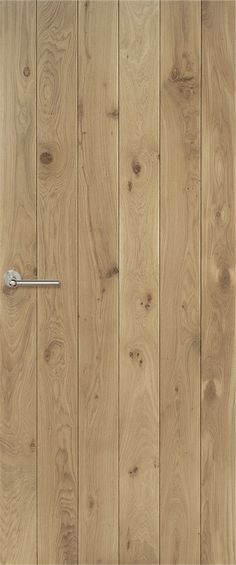 Klampdeuren | Eikenhouten opgeklampte binnendeuren op maat