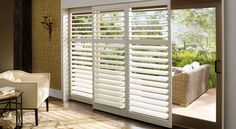 Photo Gallery: Hunter Douglas Window Treatments--- for sliding glass door?