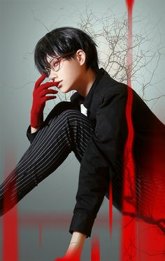 東京喰種:re - Takuwest(沢西) Ken Kaneki Cosplay Photo - Cure WorldCosplay