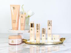RE9 skin and body care... giving you the ultimate in 'beautiful glow' from your head to your toes. www.nataliescott.arbonne.com