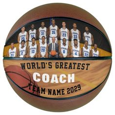 Personalized Photo Basketball for Team Coach - tap/click to get yours right now! #photo #basketball, #custom #basketball #player, Personalized Basketball, Custom Basketball, Basketball Gifts, Basketball Coach, Basketball Players, Team Pictures, Team Photos, Sports Photos, Team Coaching