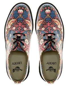 Asos_Dr Martens_Liberty London William Morris #travelbright