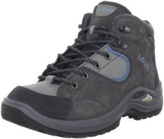 """Lowa Women's Tempest QC GTX Hiking Boot Lowa. $100.24. Rubber sole. Made in Slovakia. Heel measures approximately 1.5"""". Shaft measures approximately 4"""" from arch. leather"""