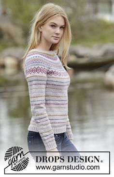 Ravelry: 165-1 Sweet As Candy pattern by DROPS design
