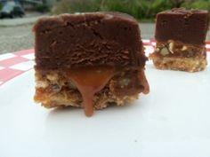 Salted Caramel Fudge Squares...my favorite!