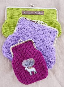 Pencil case and other purses Learn To Crochet, Diy Crochet, Crochet Bags, Cool Pencil Cases, Diy Bags Purses, Frame Purse, Beautiful Crochet, Diy And Crafts, Coin Purse