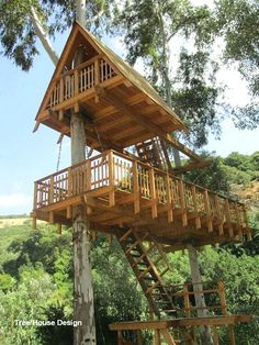 More ideas below: Amazing Tiny treehouse kids Architecture Modern Luxury treehouse interior cozy Bac Beautiful Tree Houses, Cool Tree Houses, Cozy Backyard, Backyard Kitchen, Tree House Plans, Build A Playhouse, Tree House Designs, Awesome Bedrooms, Modern Luxury