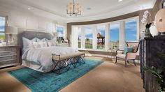 You can never have enough natural light in a master bedroom... #laurelton #blackstone