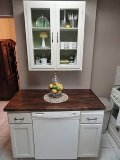The Precious Little Things in Life: DIY Dishwasher Cabinet ...