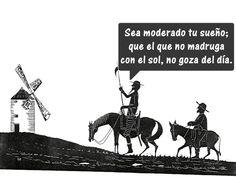 """Fragmento """"El Quijote de la Mancha"""". Día del Idioma Español. Abril 23"""