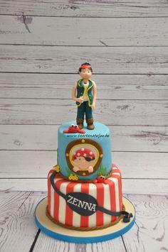 children cake, pirate cake
