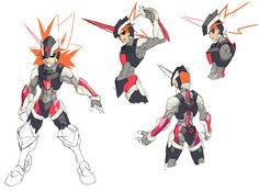 Viper Concepts from Azure Striker Gunvolt