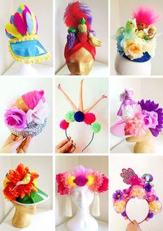 Sara is in Love with… Headcase Headwear quirky kitsch festival headwear fascinators visors my little pony barbie