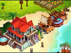 Take a tropic escape to your very own dream island in this new free-to-play building simulation game from the makers of the world's most popular farming game. Farm Games, Game Update, Free Gems, Simulation Games, Star Citizen, Mobile Game, Cheating, Ios, Android