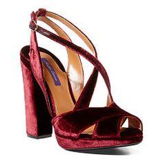 d3b601be1 Georgeanna Velvet Sandal - Ralph Lauren All Shoes - RalphLauren.com Peep Toe  Platform,