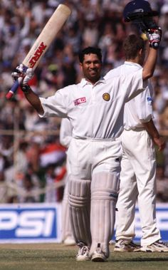 No. 21: Tendulkar scored his first double-century - 217 against New Zealand at Motera in 1999 - in his 71st Test.  www.200th.in