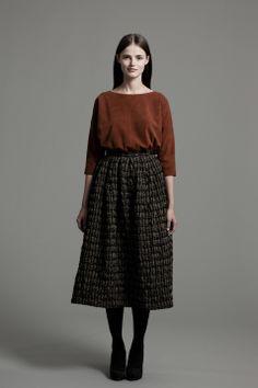 Linda Shirt and Arial Skirt | Samuji FW14 Seasonal Collection